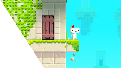 Screenshot from the video game 'Fez'