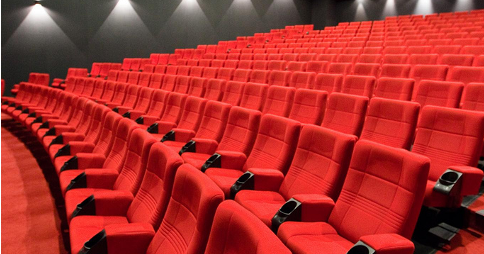 Rows of empty cinema seats. Image credit: m4tik via Flickr