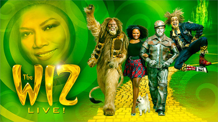 Promotional poster for The Wiz Live! Image credit: NBC