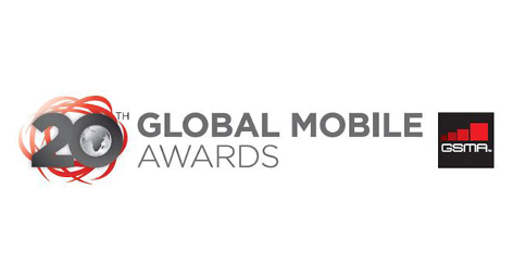 20th Global Mobile Awards (GSMA) logo