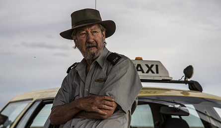 Michael Caton as Rex in Last Cab to Darwin