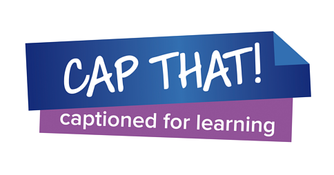CAP THAT! captioned for learning logo