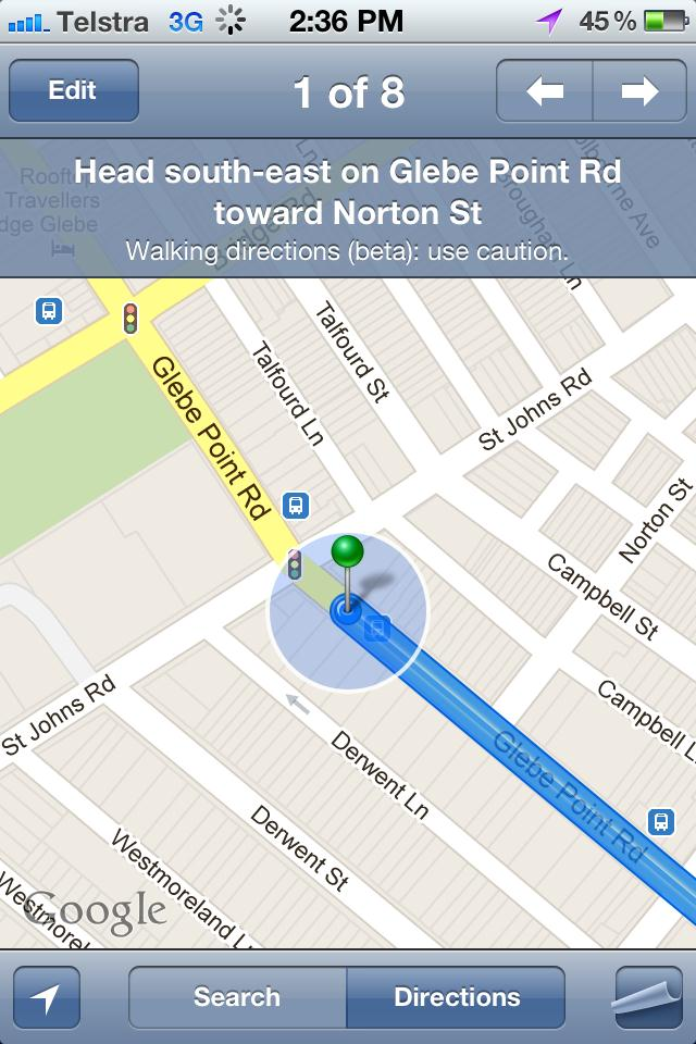 Apple Maps Misses Accuracy But Shows Accessibility Media Access