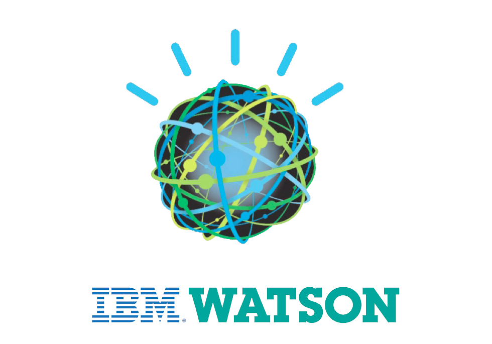 Logo of the IBM Watson supercomputer