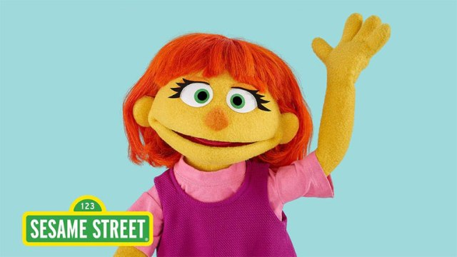 Image of new muppet Julia