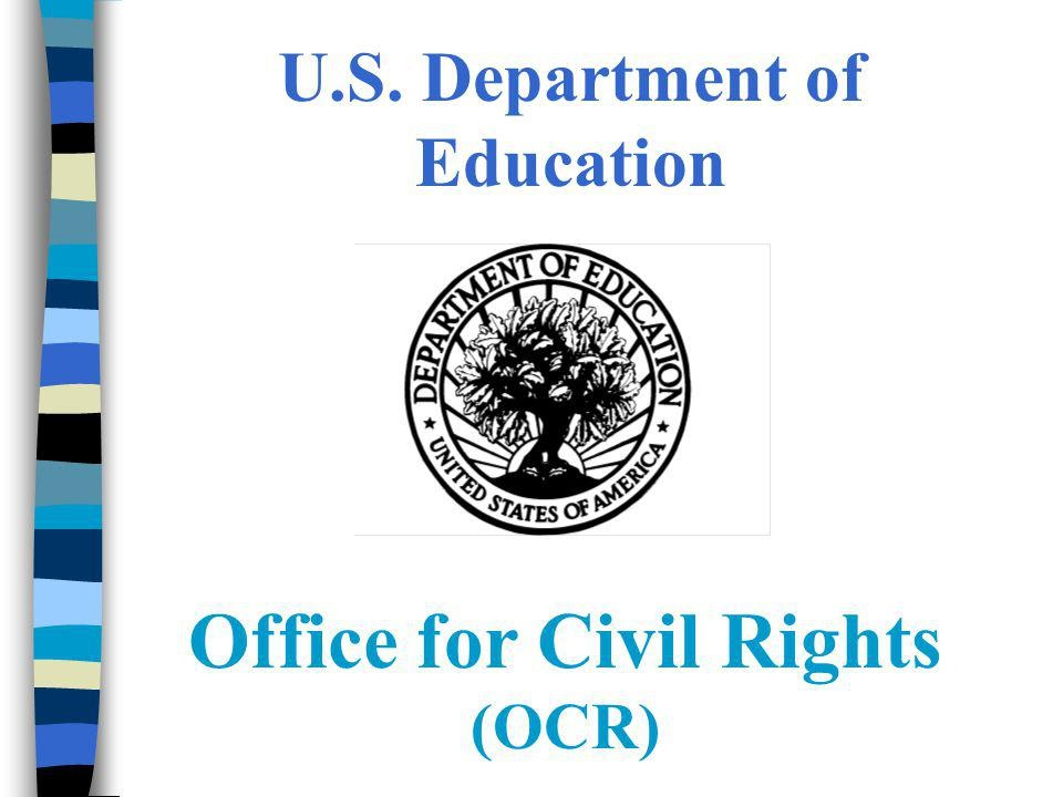 Image of the Office for Civil Rights (OCR) logo