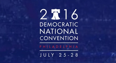 Image of 2016 Democratic Convention logo
