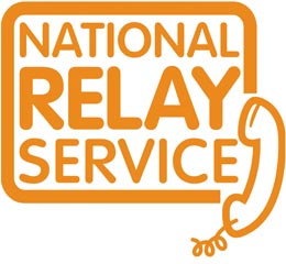 Image of National Relay Service logo